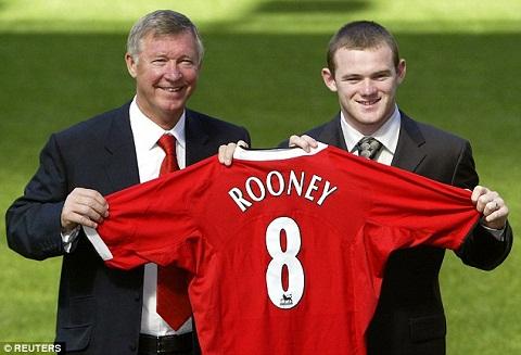 Nhin lai nhung khoanh khac dang nho trong su nghiep cua Wayne Rooney hinh anh 2
