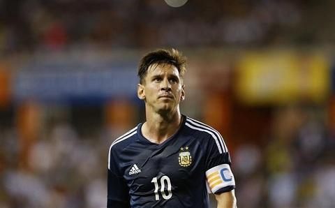Lionel Messi lap ky luc dang ne tai tuyen Argentina hinh anh