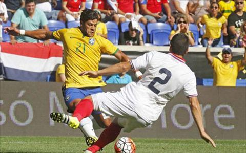 Video clip ban thang Costa Rica 0-1 Brazil (Giao huu quoc te 2015) hinh anh