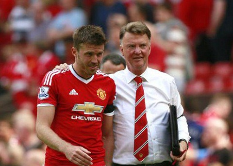tien ve Michael Carrick hinh anh