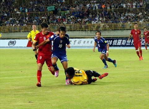 Video clip ban thang Dai Loan 1-2 Viet Nam hinh anh