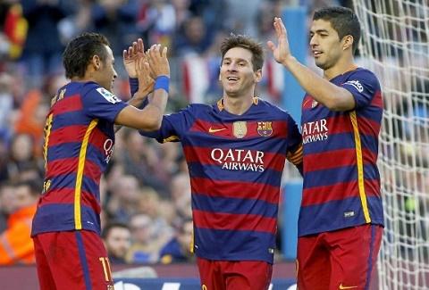 FIFA nen cam Messi, Suarez va Neymar  thi dau cung nhau hinh anh