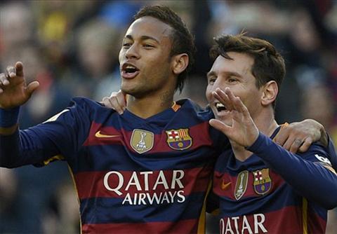 Messi (phai) dat phong do cao trong nhung tran dau nam mo
