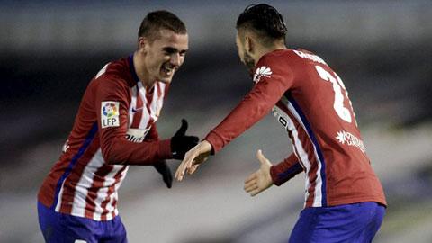 Celta Vigo 0-2 Atletico Madrid Chiem lai ngoi dau hinh anh