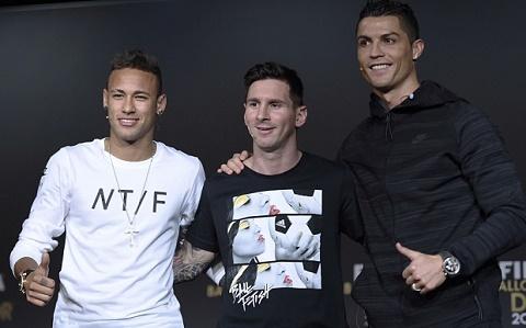 Qua bong dong Neymar tai QBV FIFA 2015 Nha vua cua tuong lai hinh anh 2