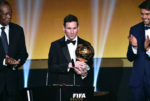 Messi tiet lo ve tuong lai sau khi gianh QBV FIFA 2015 hinh anh