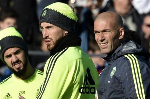 Trung ve Sergio Ramos lo tran dau voi Sporting Gijon hinh anh