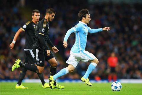 David Silva Champions League