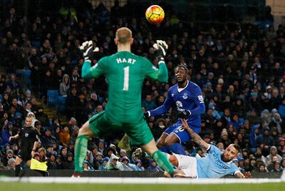 Thay gi sau tran hoa cua Man City truoc Everton hinh anh