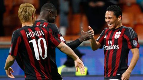 Video clip ban thang AC Milan 2-1 Carpi (Cup quoc gia Italia 201516) hinh anh