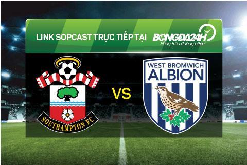 Link sopcast xem truc tiep Southampton vs West Bromwich (22h00-1601) hinh anh