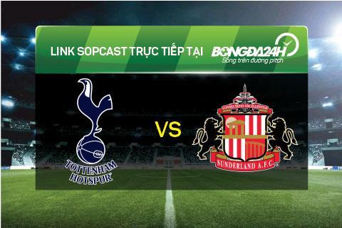 Link sopcast xem truc tiep Tottenham vs Sunderland (19h45-1601) hinh anh