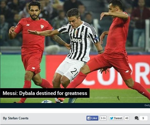 Tien dao Paulo Dybala Hanh trinh tro thanh Messi moi hinh anh