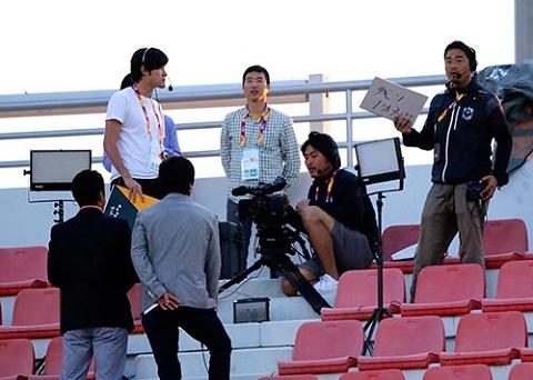 U23 Viet Nam la doi tuyen nuoc ngoai duy nhat duoc phat song tai Nhat Ban hinh anh