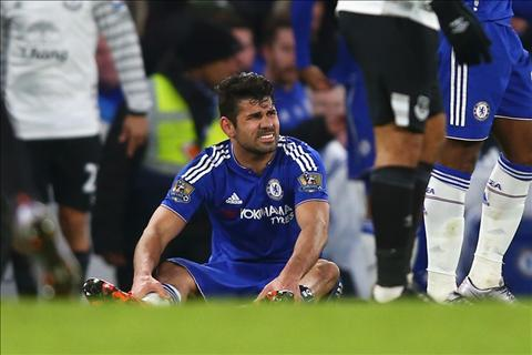 Chelsea 3-3 Everton Chan thuong cua Costa khong qua nghiem trong hinh anh