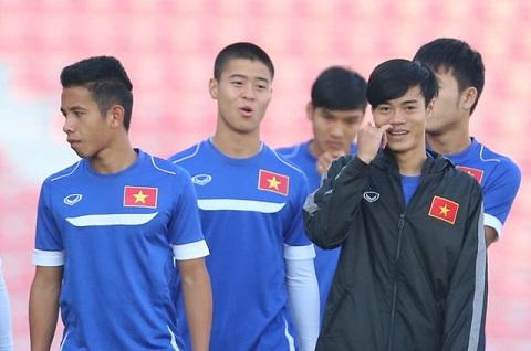 U23 Viet Nam Da den luc de HAGL linh an tien phong hinh anh