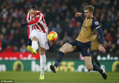 Stoke 0-0 Arsenal