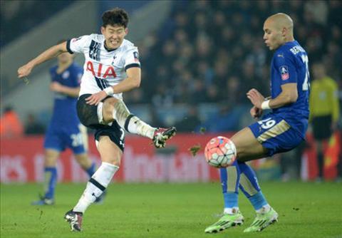 Tuong thuat tran dau Leicester vs 0-2 Tottenham cup FA Anh 20152016 hinh anh