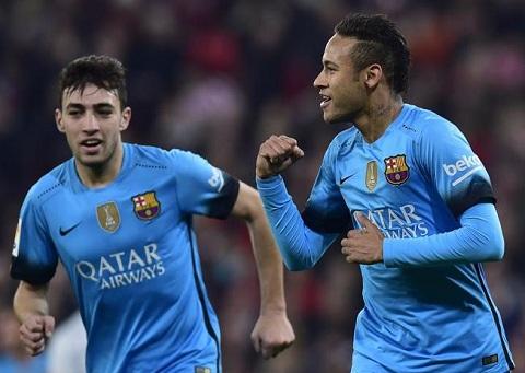 Video clip ban thang Bilbao 1-2 Barca (Cup Nha vua TBN 20152016) hinh anh