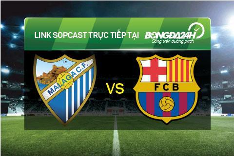 Link sopcast xem truc tiep Malaga vs Barcelona (22h00-2301) hinh anh