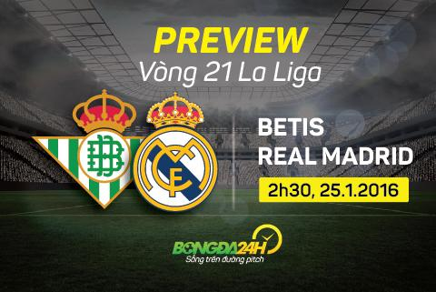 Preview: Betis - Real Madrid
