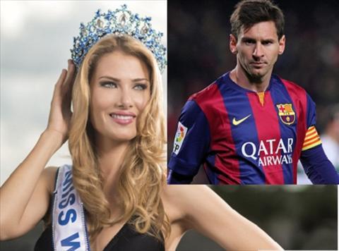 Tan hoa hau muon an toi cung Lionel Messi hinh anh