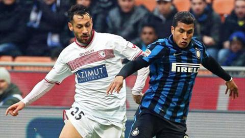 Video clip ban thang Inter Milan 1-1 Carpi (Vong 21 Serie A 201516) hinh anh