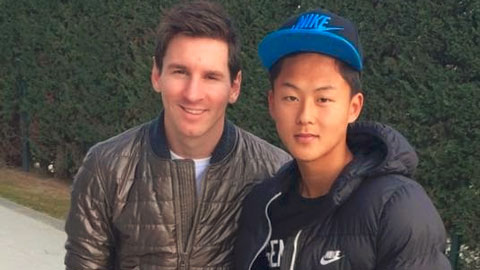 Messi Han Quoc hinh anh