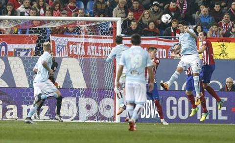 Video clip ban thang Atletico Madrid 2-3 Celta Vigo (Tu ket luot ve cup Nha vua TBN 20152016) hinh anh
