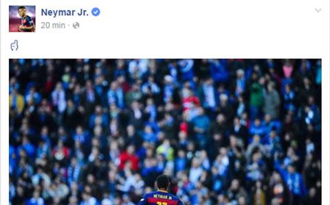 CDV Espanyol phan biet chung toc doi voi ngoi sao Neymar Jr hinh anh
