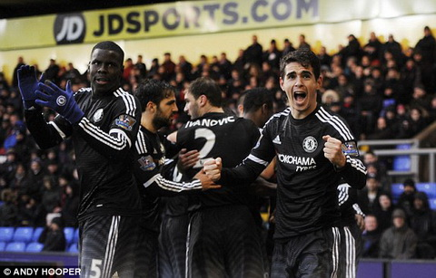 Crystal Palace 0-3 Chelsea Nhung nguoi Brazil tren dat Anh! hinh anh