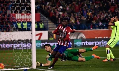 Video clip ban thang Atletico Madrid 1-0 Levante (Vong 18 La Liga 20152016) hinh anh