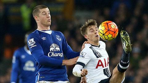 Video clip ban thang Everton 1-1 Tottenham (Vong 20 NHA 20152016) hinh anh