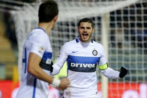 Video clip ban thang Empoli 0-1 Inter Milan (Vong 18 Serie A 20152016) hinh anh