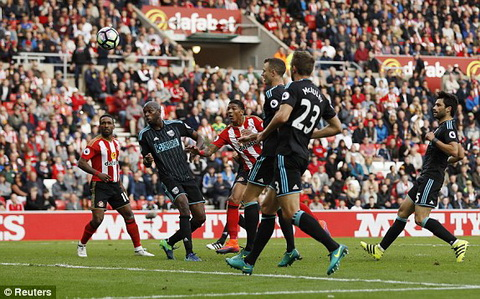 Clip ban thang Sunderland vs 1-1 West Brom Vong 7 NHA 201617 hinh anh