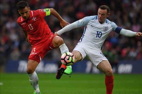 Anh vs Malta Rooney