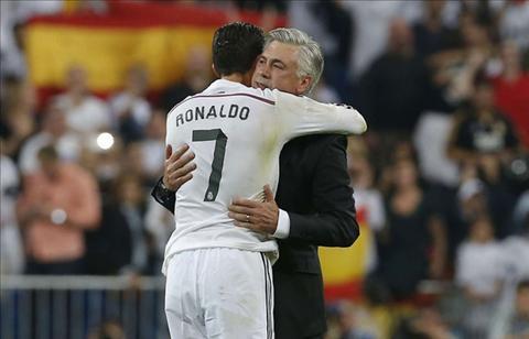 Ronaldo Ancelotti la mot chu gau dang yeu! hinh anh