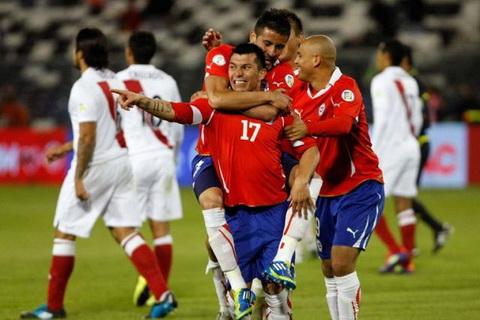 Nhan dinh Chile vs Peru 06h30 ngay 1210 (VL World Cup 2018) hinh anh