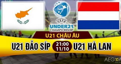 Nhan dinh U21 Sip vs U21 Ha Lan 21h00 ngay 1110 (VL giai U21 chau Au) hinh anh