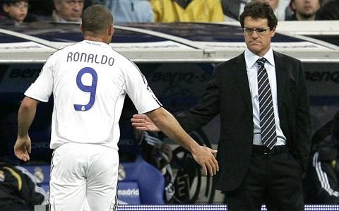 Ronaldo beo tro thanh nan nhan duoi Ban tay sat cua Capello