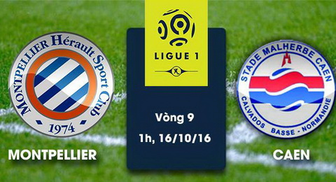 Nhan dinh Montpellier vs Caen 01h00 ngay 1610 (Ligue 1 201617) hinh anh
