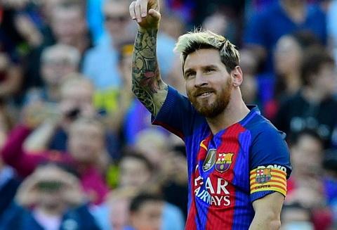 Lap cong vao luoi Deportivo, Messi pha ky luc lam ban tai La Liga.
