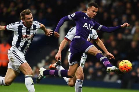 West Brom 1-1 Tottenham (Vong 8 NHA 2016/17)