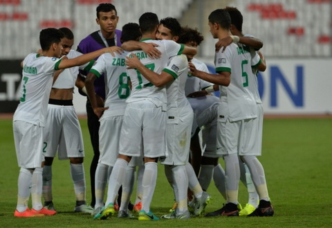 Tong hop U19 Saudi Arabia 4-0 U19 Thai Lan (VCK U19 chau A) hinh anh