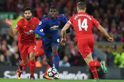 Mourinho chi trich Pogba va Ibra sau tran hoa nhat Liverpool hinh anh