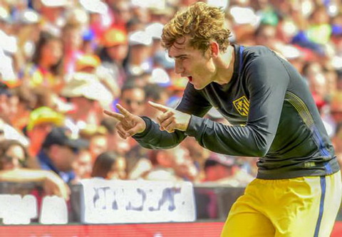 Griezmann van hy vong co the gianh QBV FIFA 2016Griezmann van hy vong co the gianh Qua bong Vang FIFA 2016 hinh anh 2