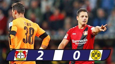 Leverkusen 0-2 Dortmund Rot xuong mat dat hinh anh
