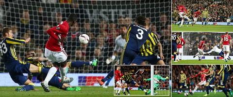 Du am M.U 4-1 Fenerbahce: Hay cho Ibrahimovic ngoi ngoai