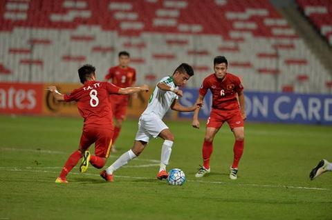 Video clip tong hop U19 Viet Nam vs 0-0 U19 Iraq VCK U19 chau A hinh anh