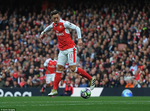 Du am Arsenal 0-0 Middlesbrough That vong Mesut Ozil hinh anh 3